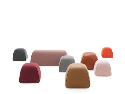 bimbom pouf kruk collectie design on stock