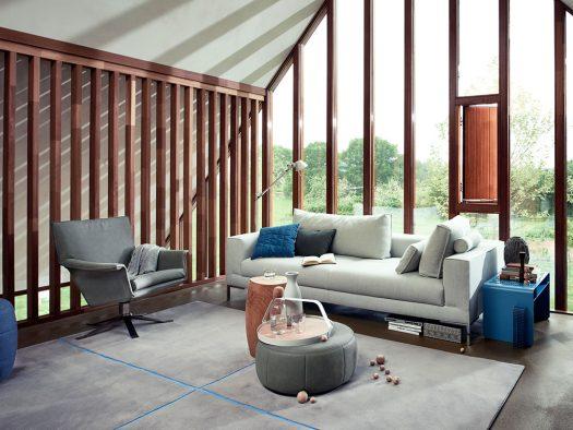 fauteuil djenne in leer inspiratie wonen design on stock