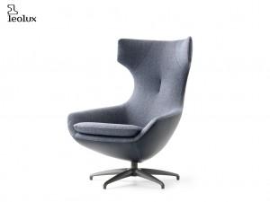 fauteuil design caruzzo in leder stof leolux deruijtermeubel