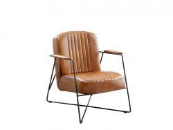 fauteuil dani modern industrieel inhouse deruijtermeubel