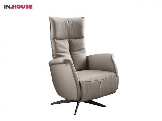 relaxfauteuil gubbio t-rug deruijtermeubel cruquius inhouse fauteuils ronde plaat