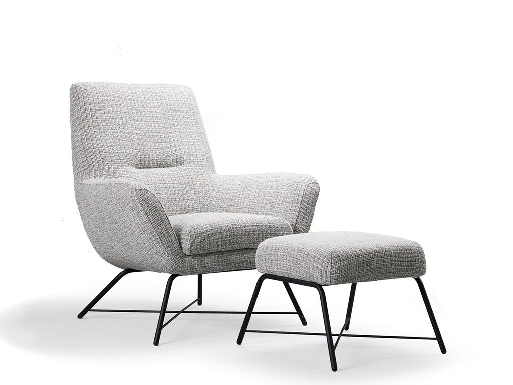 Modern Design Fauteuil.Fauteuil Lewis Ojee Design Draaifauteuils De Ruijtermeubel