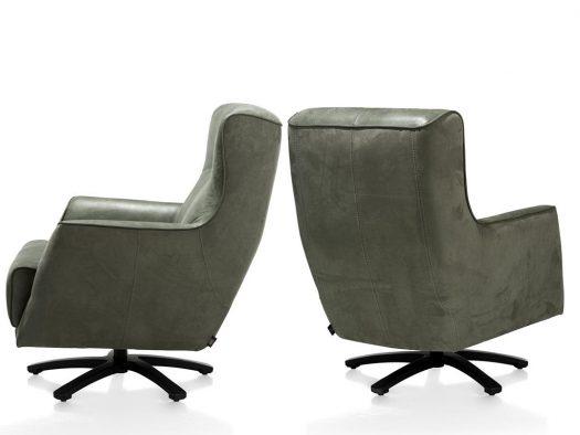 fauteuils in leder modern trendy deruijtermeubel roskilde