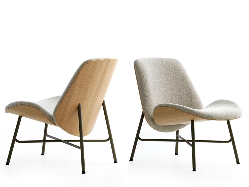 Design Stoelen En Fauteuils.Fauteuil Nihan
