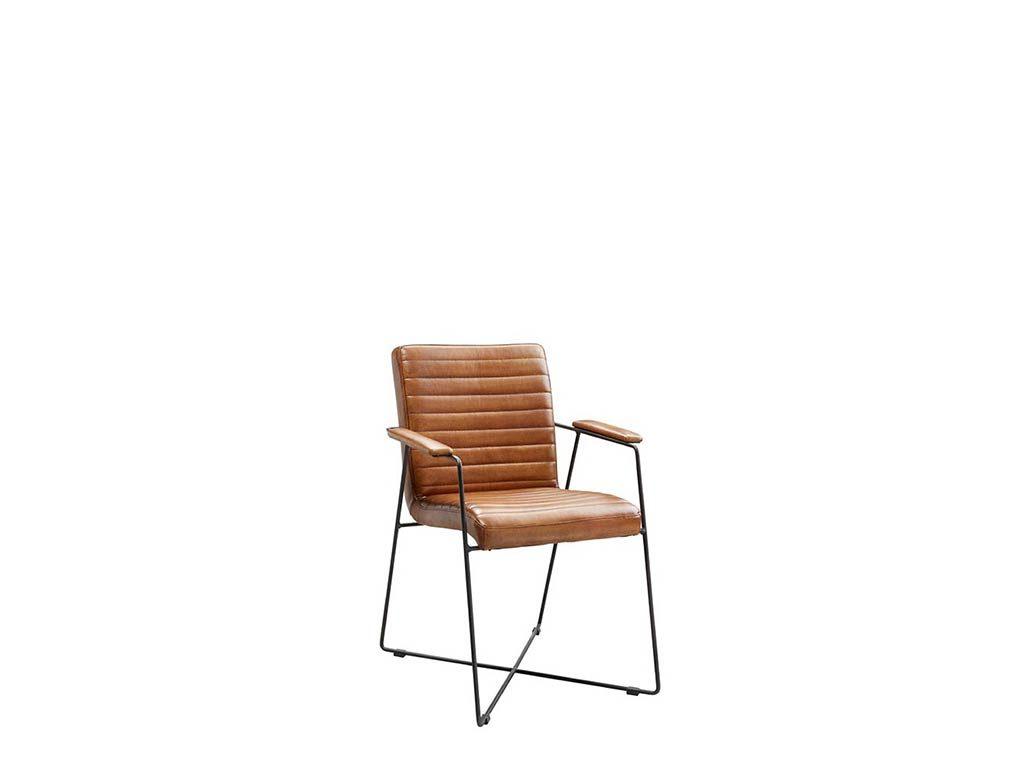 Stoer Industriele Eetkamerstoelen : Armstoel daan in.house moderne stoelen de ruijtermeubel
