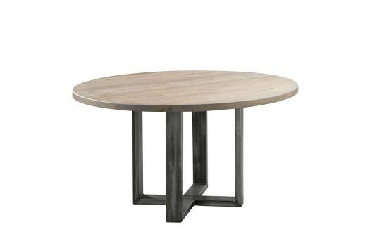 tafel rond gardo eetkamertafels hout modern maat