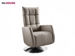 relaxfauteuil gubbio deruijtermeubel cruquius inhouse fauteuils ronde plaat