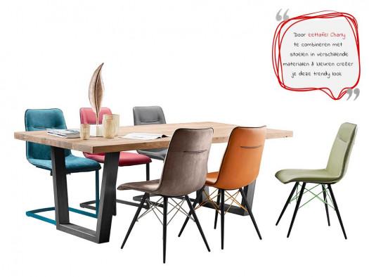 inspiratie tafel charly vrolijk kleurrijk modern