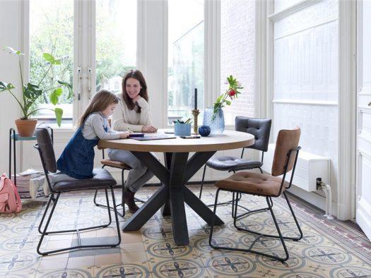 inspiratie metalox ronde tafels deruijtermeubel