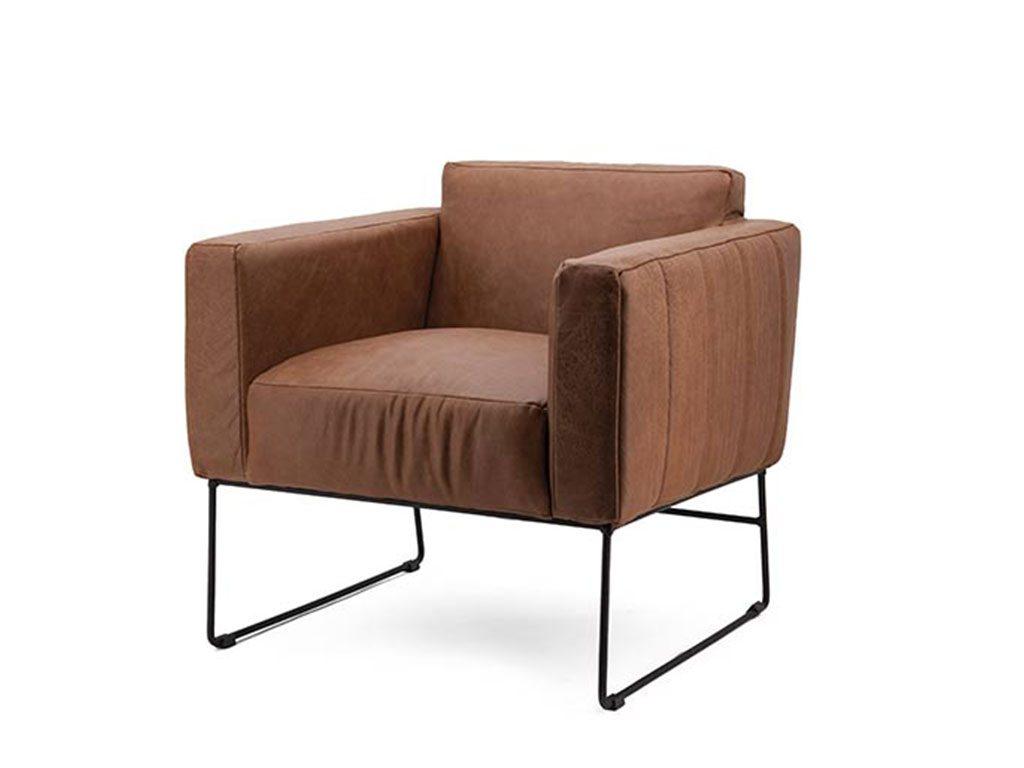 Fauteuil otis moderne stoelen de ruijtermeubel for Trendy stoelen
