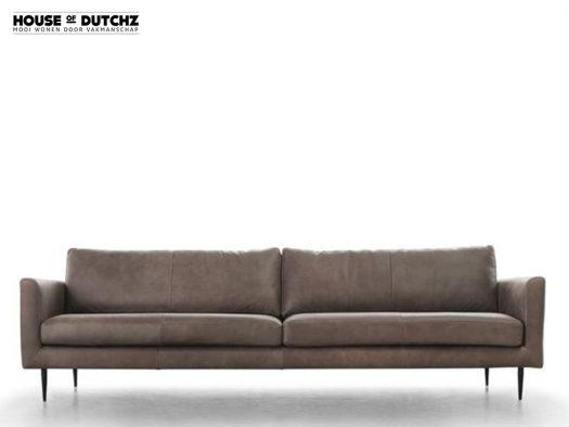 dutchz 100 4 zitsbank design in leder de ruijtermeubel