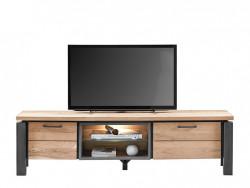 tvdressoir charly hout metaal wonen meubels deruijtermeubel cruquius