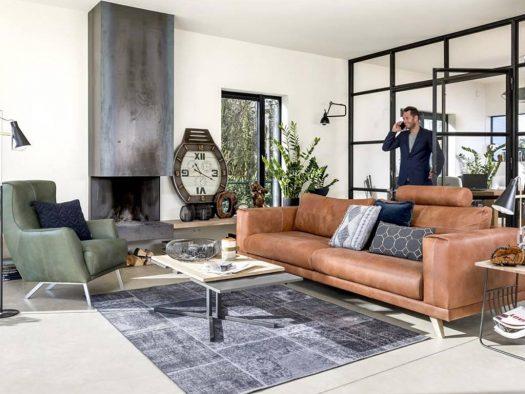 roskilde inspiratie modern wonen fauteuils in leer