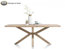 eettafel Quebec in hout collectie Henders en Hazel