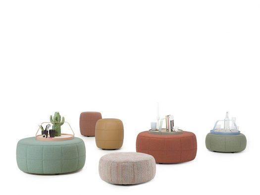design poef barrell hip trendy de ruijtermeubel