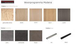 kleuren houtstalen modena