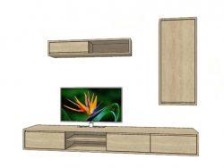 tv kast aurora maatwerk hout kasten