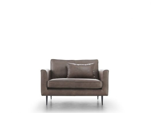 fauteuil dutchz 1300 in leder design house of dutchz