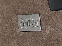 detail fauteuils chanti relaxstoelen deruijtermeubel