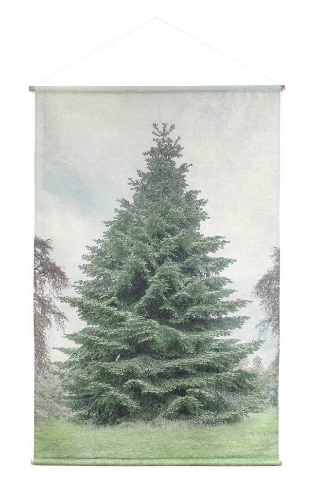 kerstboom print
