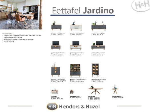 collectie overzicht woonprogramma deruijtermeubel jardino