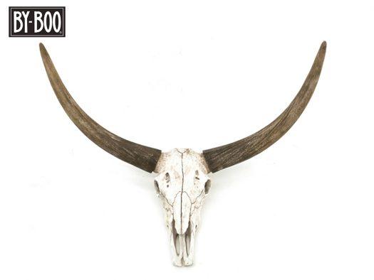 ox head skull byboo 6501 deruijtermeubel dierenkop scandinavisch