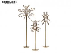 insects bodilson accessoire goud zwart metaal