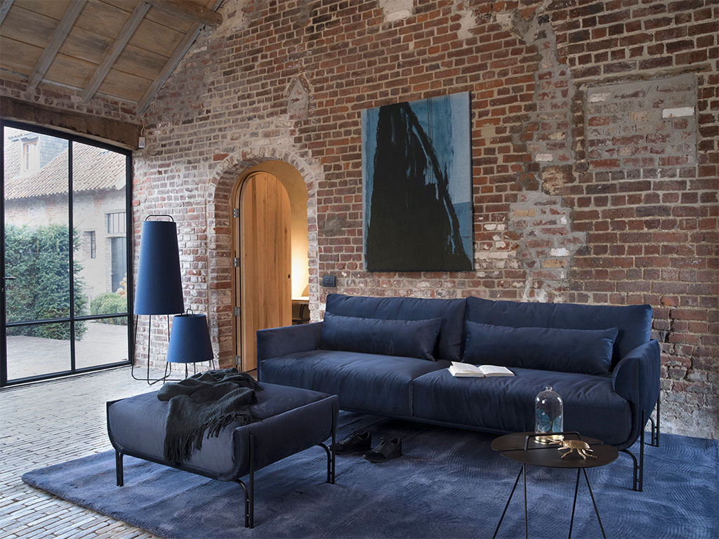 Blauwe Design Bank.Bank Lucie Design Comfortabel De Ruijtermeubel