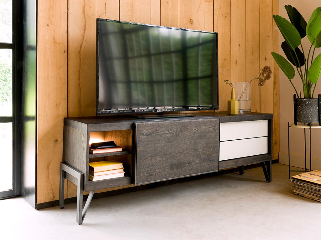 Tv Kast Leolux.Tv Dressoir Montpellier Modern Wonen Ledverlichting