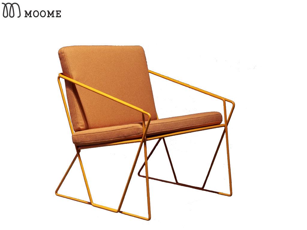 Leuke Design Fauteuil.Fauteuil Aude Oranje Stoel Design De Ruijtermeubel