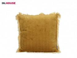 sierkussen polyester yellow woonaccessoires inhouse deruijtermeubel