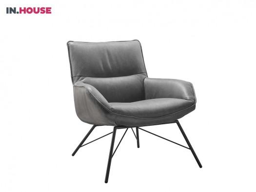 fauteuil calani in leder inhouse deruijtermeubel cruquius