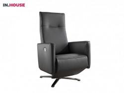 fauteuil meribel in leder bruin deruijtermeubel relax