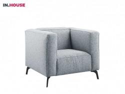 fauteuil mantia in stof grijs inhouse deruijtermeubel cruquius