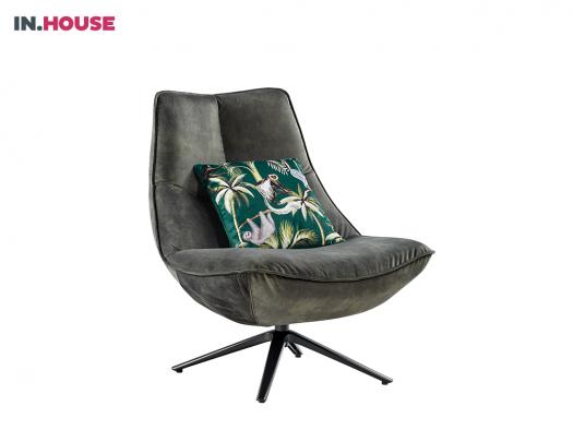 fauteuil in groen stof monzone deruijtermeubel