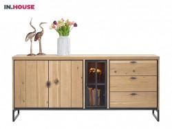 dressoir pento in eiken fineer inhouse meubels deruijtermeubel wonen noord holland.