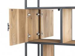 roomdivider kast detail pento in eiken fineer inhouse meubels deruijtermeubel wonen noord holland.