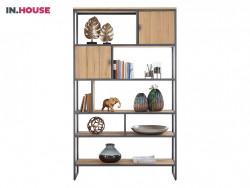 roomdivider pento in eiken fineer inhouse meubels deruijtermeubel wonen noord holland.