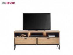 tvdressoir pento in eiken fineer inhouse meubels deruijtermeubel wonen noord holland