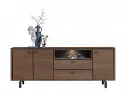 dressoir livada 210 houten kasten woonwinkel deruijtermeubel