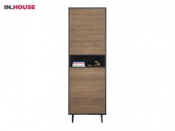 bergkast verdo wonen woonserie zwart hout modern meubels