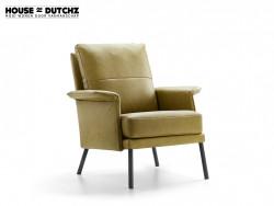 fauteuil dutchz 204 in leder cruquius