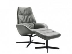 leanti fauteuil met hocker voetstoel deruijtermeubel inhouse