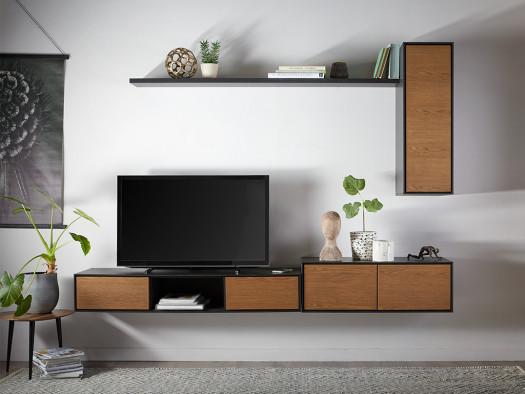 verdo wonen woonserie zwart hout modern meubels inspiratie
