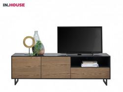 tvdressoir verdo wonen woonserie zwart hout modern meubels