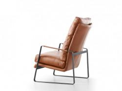 achterzijde leder dutchz 203 fauteuil deruijtermeubel designstoelen