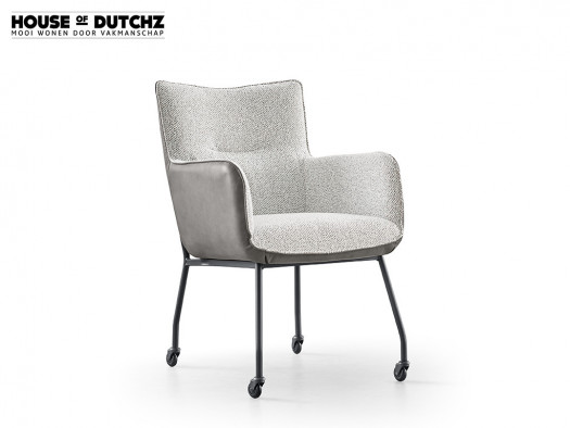 design armstoel dutchz 1800 hoese of dutchz wielen deruijtermeubel