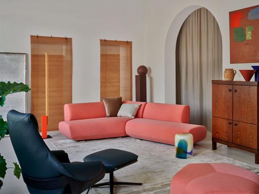 inspiratie leolux designfauteuils interieur design woonkamer