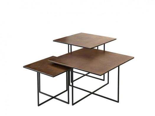 salontafelset lio richmond interiors deruijtermeubel chigue zwart