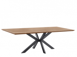 eettafel batoli deruijtermeubel houten tafels metaal cruquius